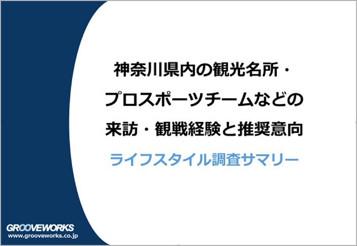 【調査レポート】 神奈川県内観光名所などの来訪経験・推奨意向