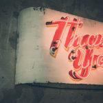 「ありがとう」を言っていますか?